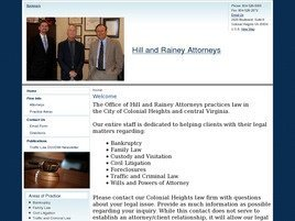 Hill and Rainey Attorneys Law Firm Logo