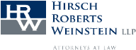 Hirsch Roberts Weinstein LLP Law Firm Logo