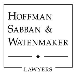 Hoffman, Sabban & Watenmaker <br />A Professional Corporation Law Firm Logo