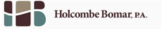 Holcombe Bomar, P.A. Law Firm Logo