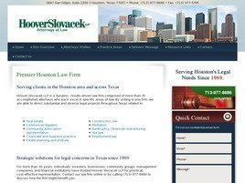 Hoover Slovacek LLP Law Firm Logo