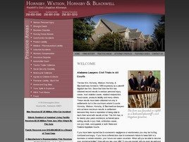 Firm Logo for Hornsby, Watson, Hornsby & Blackwell