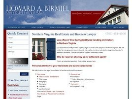 Firm Logo for Howard A. Birmiel <br />Attorney at Law