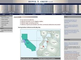 Firm Logo for Howie & Smith, LLP