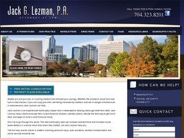 Jack G. Lezman, P.A. Law Firm Logo
