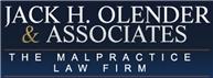 Jack H. Olender <br />& Associates, P.C. Law Firm Logo
