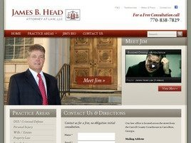 Firm Logo for James B. Head Attorney at Law LLC