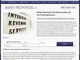 Firm Logo for James C. Provenza PC