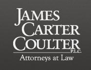 James, Carter & Coulter, PLC Law Firm Logo