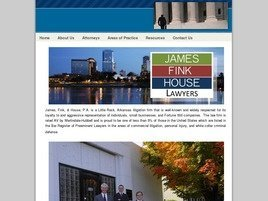 James, Fink & House, P.A. Law Firm Logo