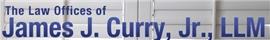 James J. Curry, Jr. Law Firm Logo