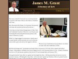 Firm Logo for James M. Grant Attorney at Law