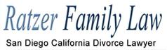 James M. Ratzer, A.P.C. -<br /> Ratzer Family Law Law Firm Logo