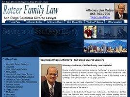 Firm Logo for James M. Ratzer A.P.C. - Ratzer Family Law