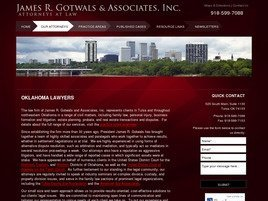 James R. Gotwals and Associates, Inc. A Professional Corporation
