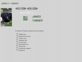 Firm Logo for James V. Tabner