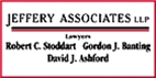 Jeffery Associates LLP Law Firm Logo