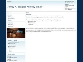Firm Logo for Jeffrey A. Boggess <br />Attorney at Law