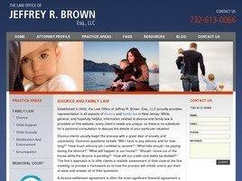 Firm Logo for Jeffrey R. Brown Esq. LLC