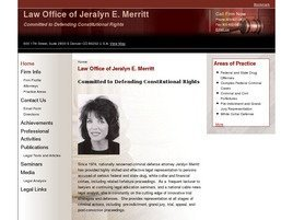 Firm Logo for Jeralyn E. Merritt