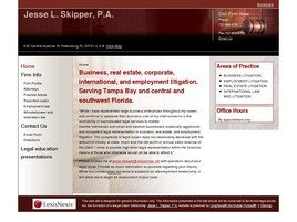 Jesse L. Skipper, P.A. Law Firm Logo