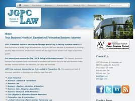 JGPC Business & Corporate Law Law Firm Logo