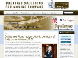 Jody L. Johnson Family Law Law Firm Logo