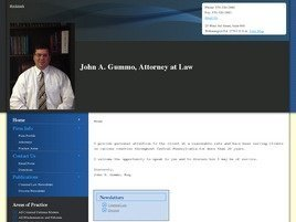 Firm Logo for John A. Gummo Attorney at Law