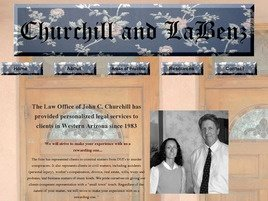Firm Logo for Churchill and LaBenz
