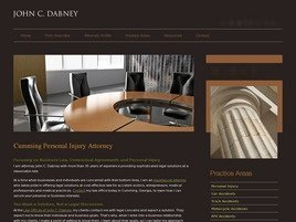 John C. Dabney Law Firm Logo