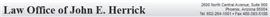 Firm Logo for John E. Herrick