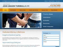 Firm Logo for Law Offices of John Grason Turnbull III P.C.