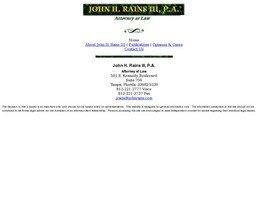John H. Rains III, P.A.