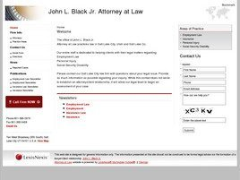 Firm Logo for John L. Black Jr. Attorney at Law