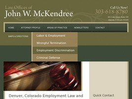 Law Offices of John W. McKendree Law Firm Logo