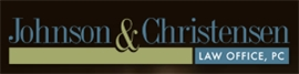 Johnson & Christensen <br />Law Office, PC Law Firm Logo