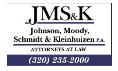 Firm Logo for Johnson Moody Schmidt Kleinhuizen P.A.