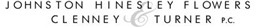 Johnston, Hinesley, Flowers, Clenney <br />& Turner, P.C. Law Firm Logo