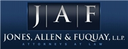 Jones, Allen & Fuquay, L.L.P. Law Firm Logo
