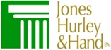 Jones, Hurley & Hand, P.A. Law Firm Logo
