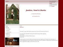 Firm Logo for Justice Noel Burks