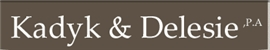 Kadyk & Delesie, PA Law Firm Logo