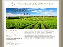 Firm Logo for Kahn Soares Conway LLP