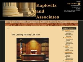 Kaplovitz and Associates, PC Law Firm Logo