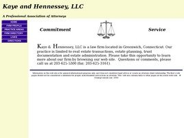 Kaye and Hennessey, LLC Law Firm Logo