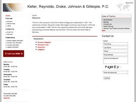 Firm Logo for Keller, Reynolds, Drake, Johnson <br />& Gillespie, P.C.