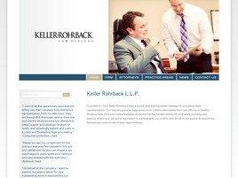 Firm Logo for Keller Rohrback P.L.C.