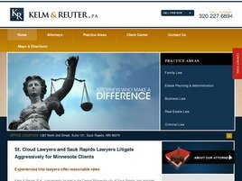 Kelm & Reuter, P.A. Law Firm Logo