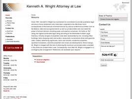 Kenneth A. Wright <br />Attorney at Law Law Firm Logo