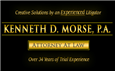 Firm Logo for Kenneth D. Morse A Professional Association